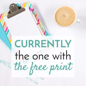 Want a free print for your home? Download your free print here!