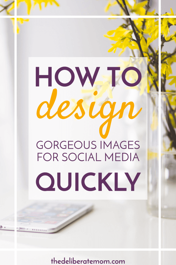 Does it take you hours to create a beautiful image for your posts AND for social media? How can you reduce this time spent on image creation? This post (and the last tip in particular) cut this blogger's image creation time from 3 hours down to 30 minutes!
