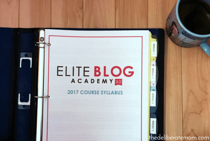 I'm preparing for Elite Blog Academy! So much is happening currently! Check it out!
