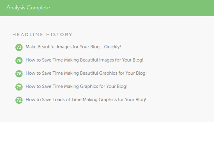Beautiful images don't have to take loads of time to create! One tip is to use a headline analyzer to ensure the titles on the images are attention grabbing. Check out the many other time-saving image creation tips too!
