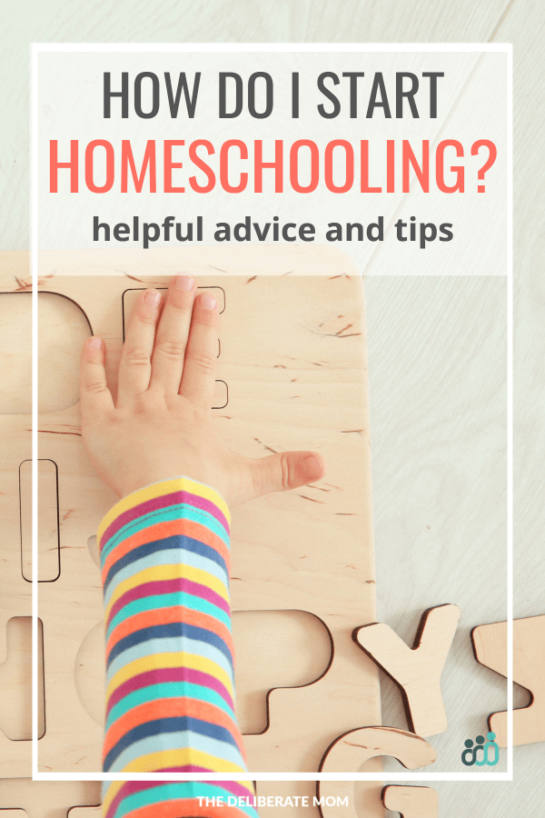 Wondering how to start homeschooling? Overwhelmed by how to begin? Check out this article for helpful tips and encouraging advice!
