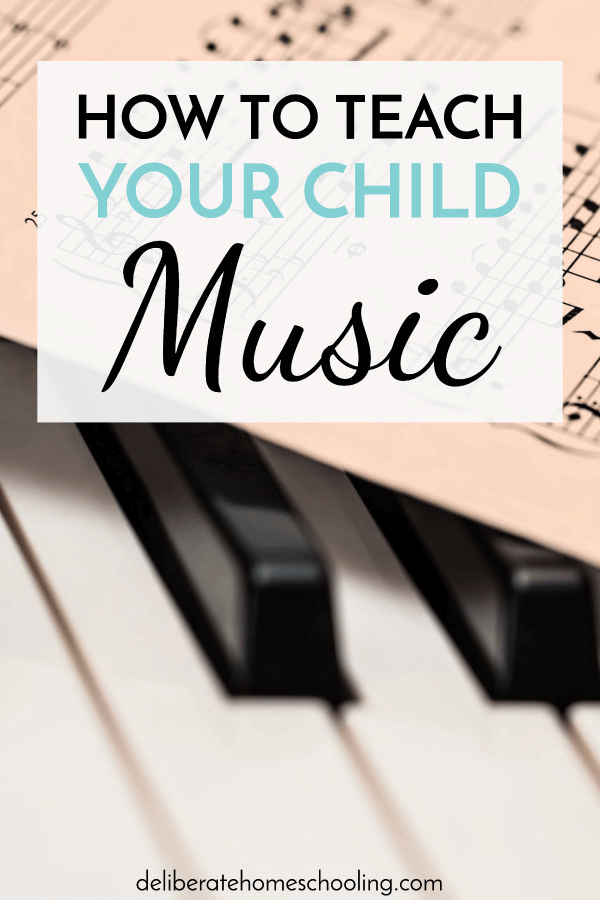 Do you wonder how you can teach your child music even if you don't play a musical instrument? This post is full of helpful and inspiring ideas!