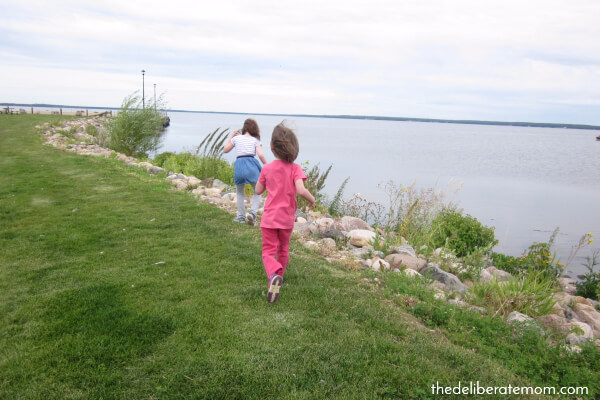 Connect with your child by taking them outside!