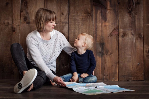 Invite your child to do something important with you! This is a wonderful way to reconnect with your child.