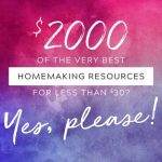 Why You Need this Ultimate Homemaking Bundle