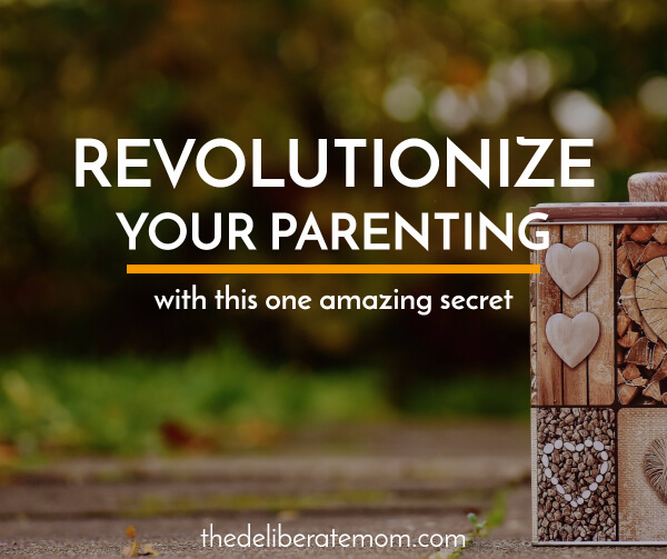 Most parents want to do better, but often don't know where to start, but here's one amazing parenting secret that can transform your motherhood journey.