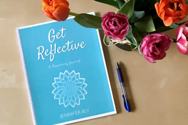 Get Reflective: A Parenting Journal helps you develop the practice of deliberate and reflective parenting, Get this unique, one-of-a-kind journal today!