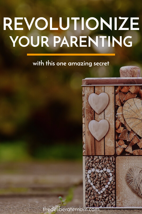 Most parents want to do better, but often don't know where to start. Here's one amazing parenting secret that can transform your motherhood journey.