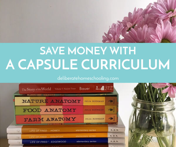 There are many benefits to using a capsule curriculum. It saves money, it's high-quality, and your child will get an awesome, unique, homeschool education!