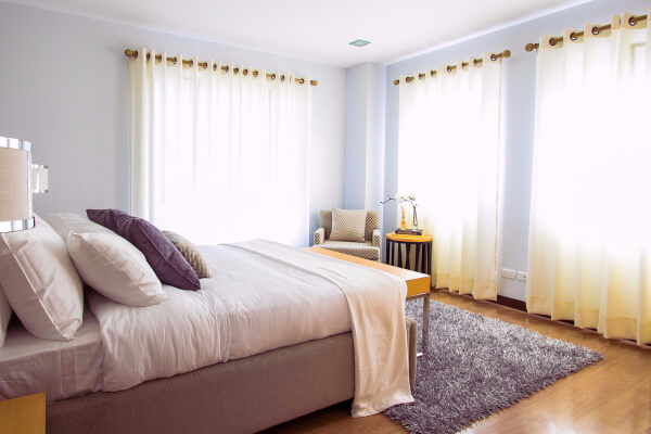 Get everyone to make their beds daily. This tip helps you keep your home looking clean!
