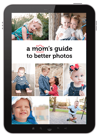 A mom's guide to better photos - a featured product in the 2017 Ultimate Homemaking Bundle!