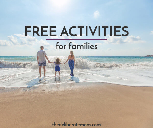 Want to spend quality time with your children? Here is a list of FREE family friendly activities to try this summer!