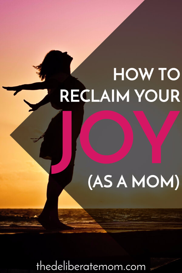 At some point in your parenting journey you lost your joy. Here are some tips to become a joyful mom once again. With a shift in perspective and a little bit of care, you can reclaim the joy that motherhood used to give you!
