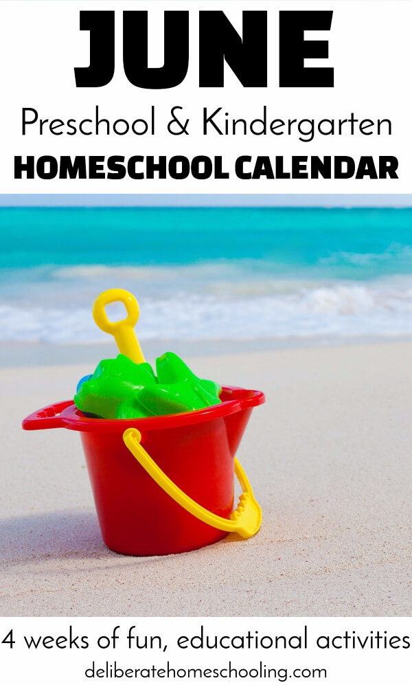 Teach your preschooler about the night sky, Father's Day, farm life, and beach fun! Check out this June calendar for educational activities for your child!