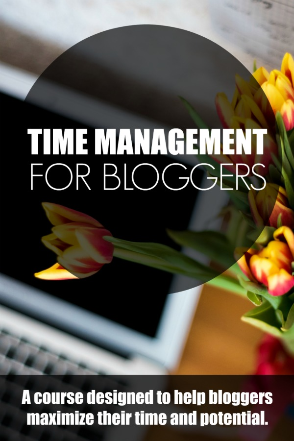 Every blogger needs this course! Master your time management today!