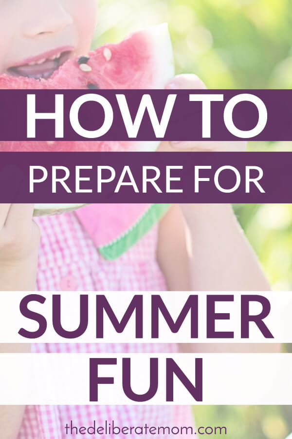 Summer flies by quickly. Here are some ways to prepare for the summer fun. From recipes, to activities, to staying healthy... this article has you covered!