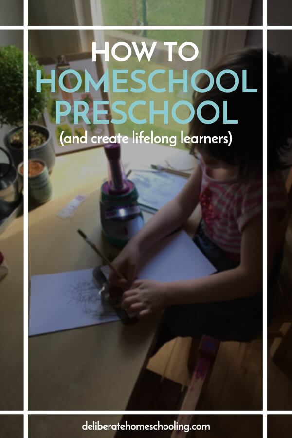 Are you planning your child's preschool year? Are you unsure of how to start? Here are loads of suggestions on how to set up a homeschool preschool program!