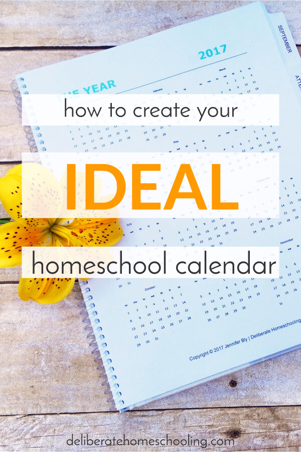What is your ideal homeschool calendar? Have you considered the possibilities? Get inspiration from this article with 3 examples of homeschool calendars!
