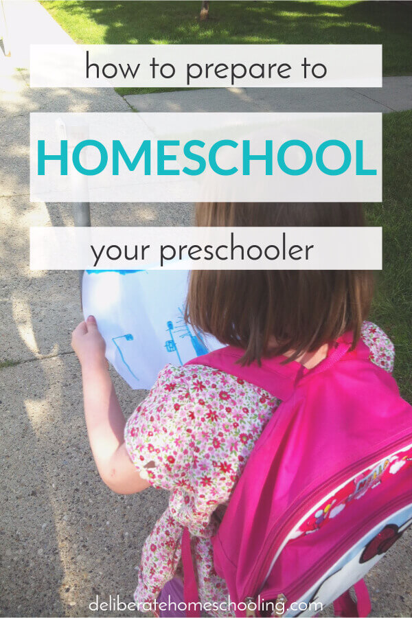 Are you headed into this new preschool year unsure of what to plan for your child? Here are some tips and suggestions for how to prepare to homeschool your preschooler!