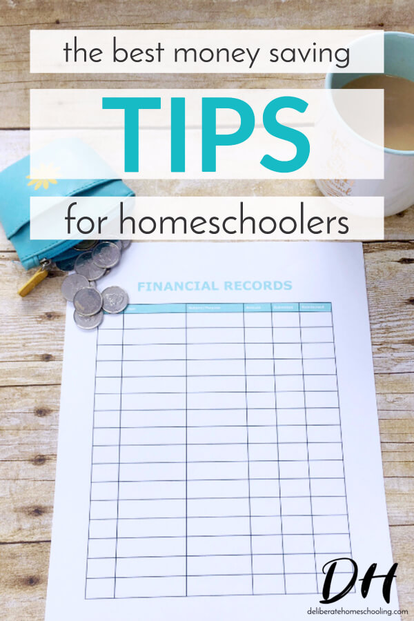 While homeschooling can save a family money, it can also get expensive if you're not watchful! Here are the BEST money saving tips for homeschoolers!