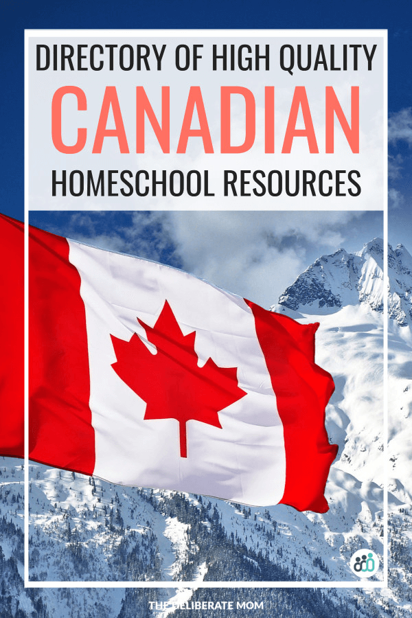 High quality Canadian homeschool resources