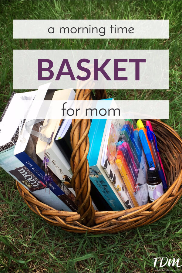 Do you need some inspiration in your mornings? Check out this mom's morning time basket! I'm sharing my morning routine and special reading selections. #momlife #parenting