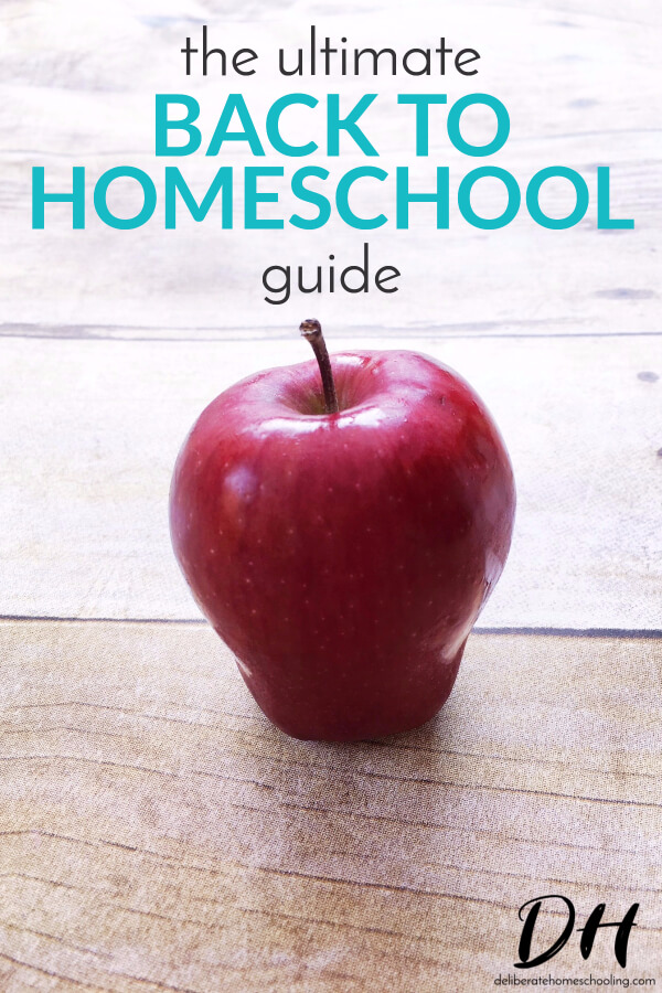 Do you feel unprepared for this upcoming homeschool year? Fear not! This back to homeschool guide will help you launch into your new year with confidence!