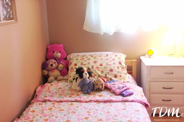 A room that is ready for bed is essential to a successful night-time routine with children.