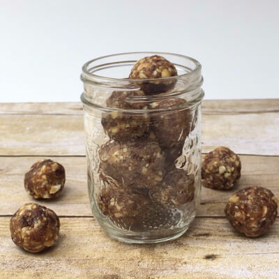 No Bake 3 Ingredient Energy Balls