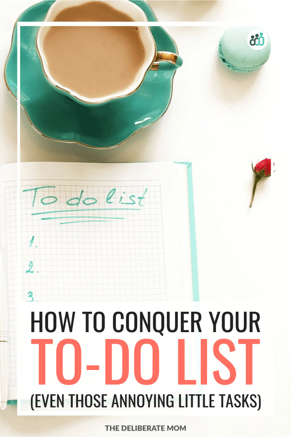 Conquer your to do list and be more productive