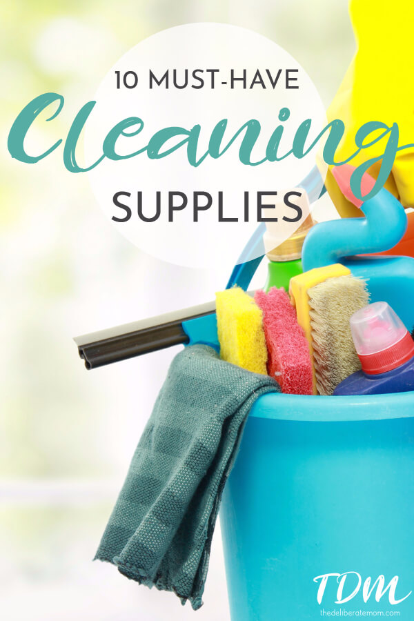 Cleaning your house? I always keep a bucket filled with my absolutely FAVOURITE cleaning supplies! These are my top 10 house cleaning items.