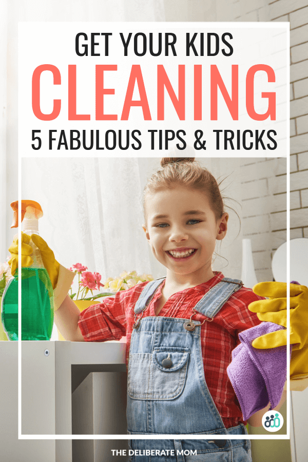 Get your kids cleaning with these tips