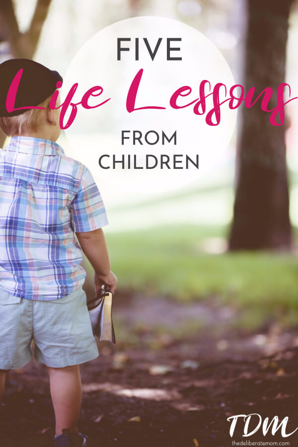 When I found out I was pregnant, I anticipated that motherhood would change me. What I didn't expect was how many life lessons I would learn from my children. Here are five essential and important life lessons we can learn from the children in our lives.