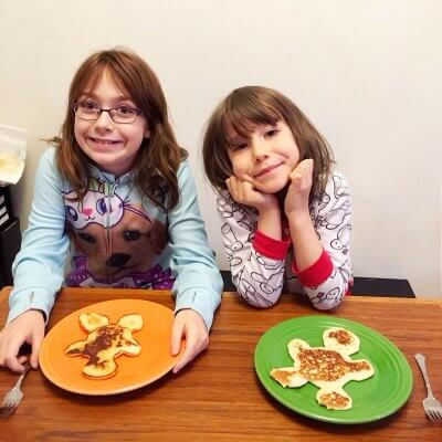 {deliberate moments: pancake kids}