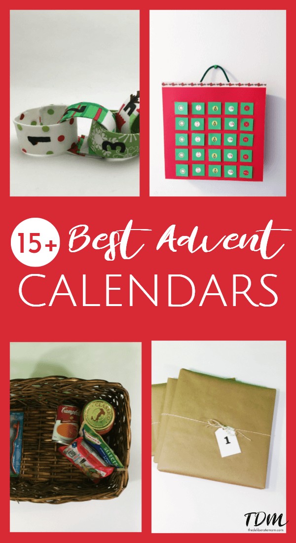 Check out 15+ of the BEST advent calendar ideas for your child! Give a calendar that's unique and special this year!