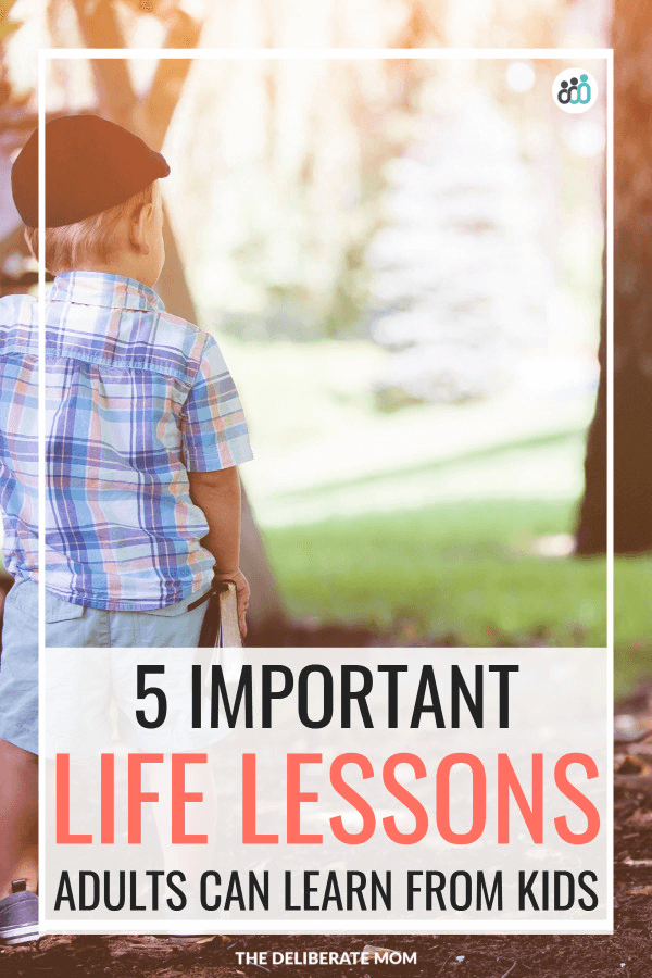 Life lessons learned from kids