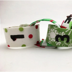 This fabric chain is one of the best Christmas advent calendar ideas!