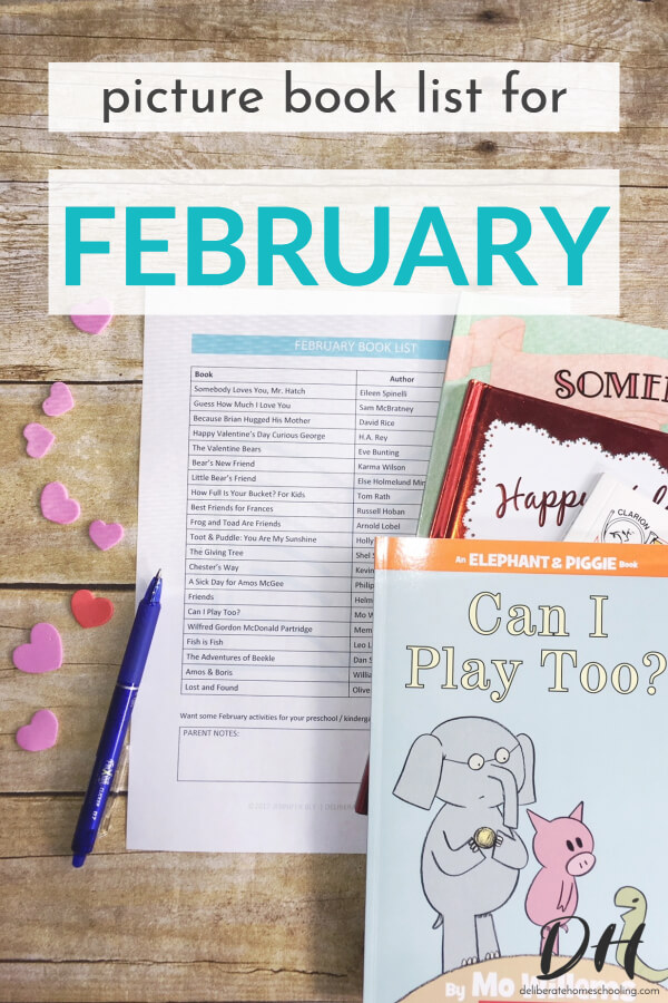 Picture books are a significant part of our homeschool curriculum. Books are a wonderful way to teach children and introduce new concepts. Here is our February picture books list. Make sure to claim your FREE printable picture books list too! #picturebooks #qualitybooksforkids