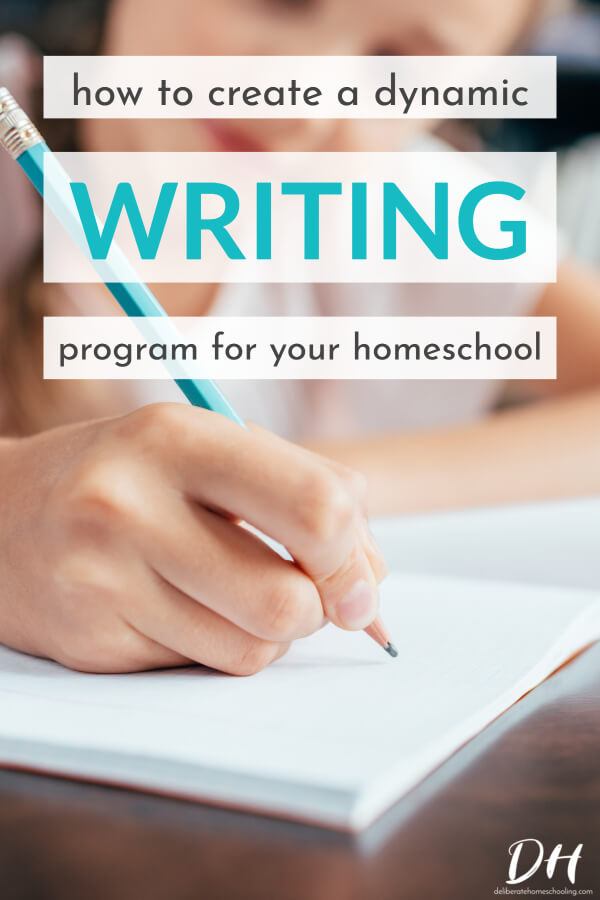 Do you find language arts a challenging subject to teach? From spelling to grammar, to writing, there is so much to focus on! Here are some insights and suggestions for how to build a dynamic language arts program for your homeschooler! #homeschool #teachwriting