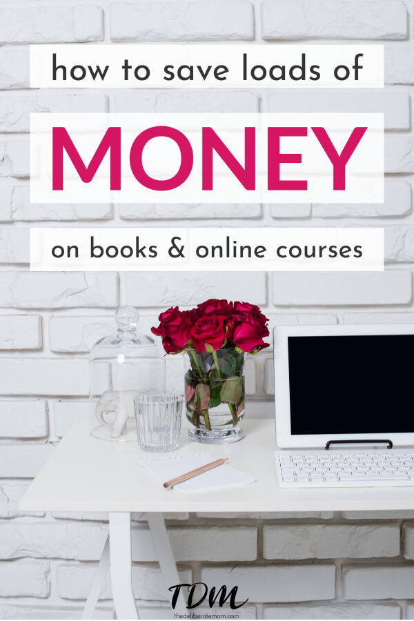 Would you like to save money on books and online courses? Here's the biggest secret and you can end up saving hundreds of dollars!