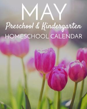 March Preschool/Kindergarten Calendar