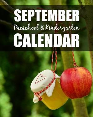 September Preschool/Kindergarten Planning