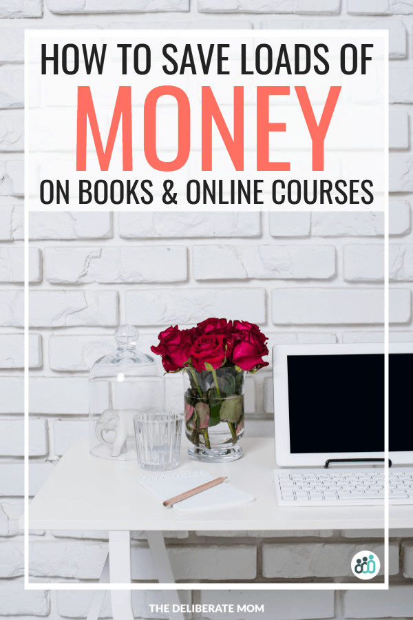 Save money on books and online courses
