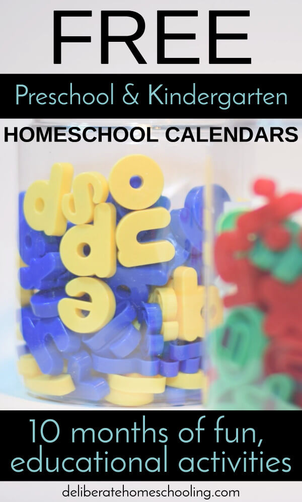 Get a whole year of FREE preschool curriculum. Links to recommended books, videos, and recipes are provided as well! Can be used with kindergarteners too!