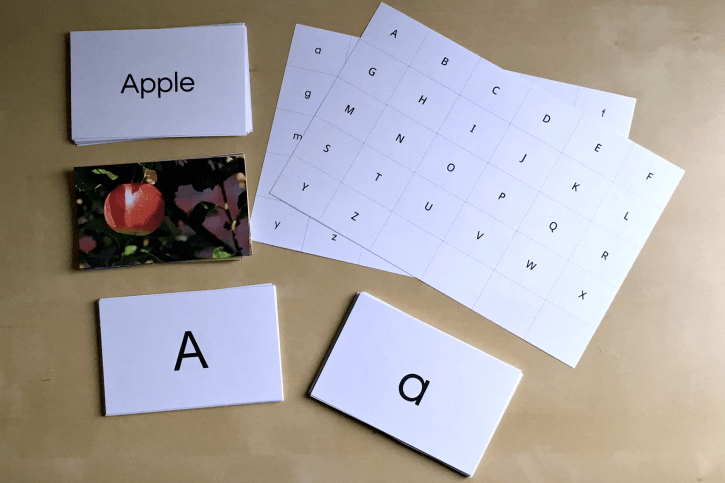 Deluxe Alphabet Cards (the complete set)