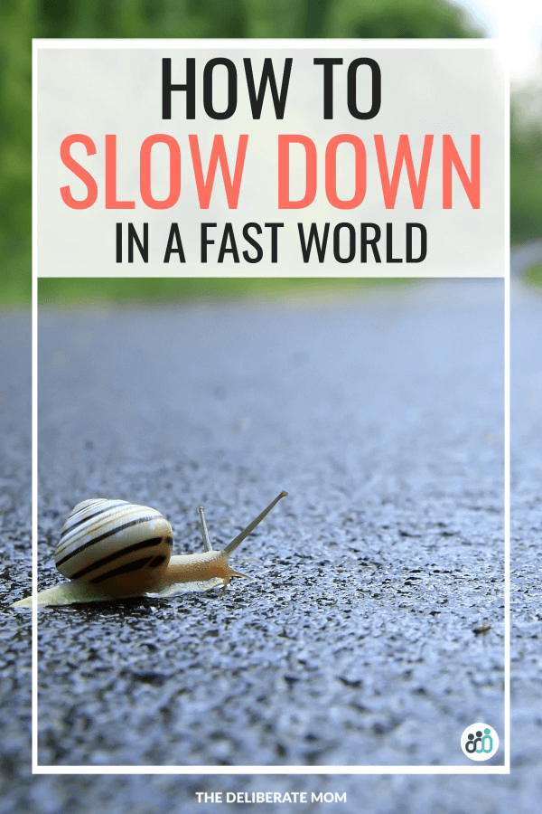 How to slow down in a fast world
