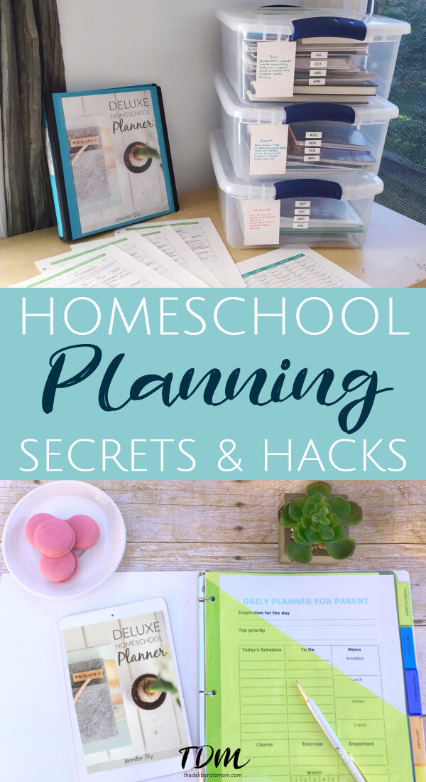Homeschool planning can be overwhelming. With these homeschool planning secrets and hacks, you can conquer your challenges with homeschool planning today! #homeschoolhacks
