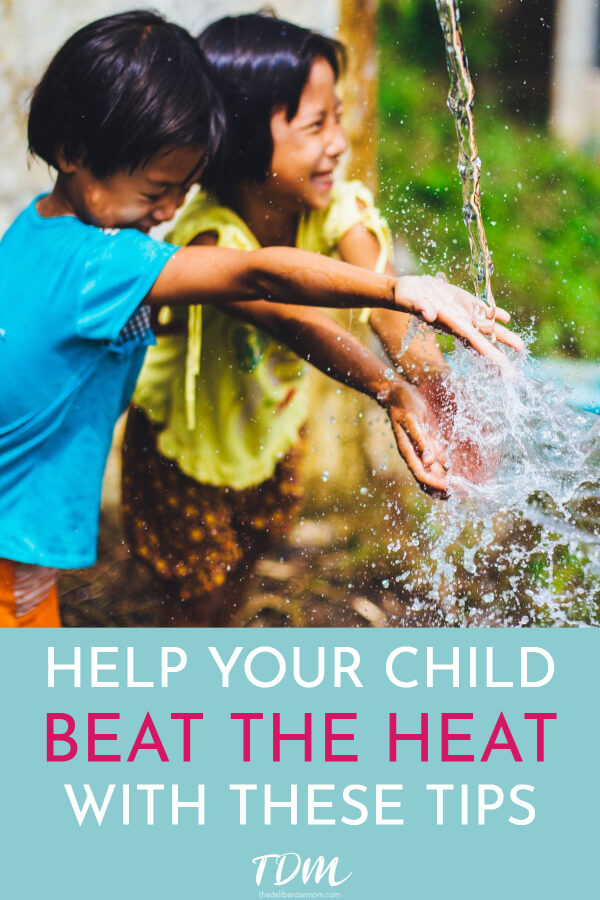 Summer! We wait for 6 months for it to arrive but then it's hot and we're not sure how we'll survive. Is your family in the middle of a heat wave? Here are some fabulous ways to keep your kids cool in the summer heat.
