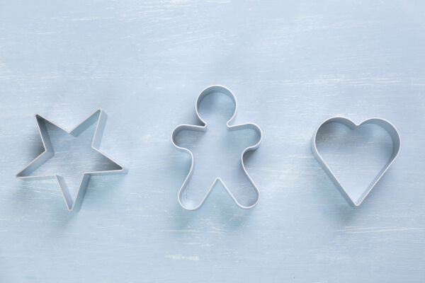 A cookie cutter is a cute Halloween candy alternative!
