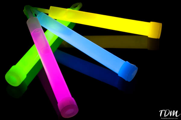Glowsticks are a great Halloween treat alternative!